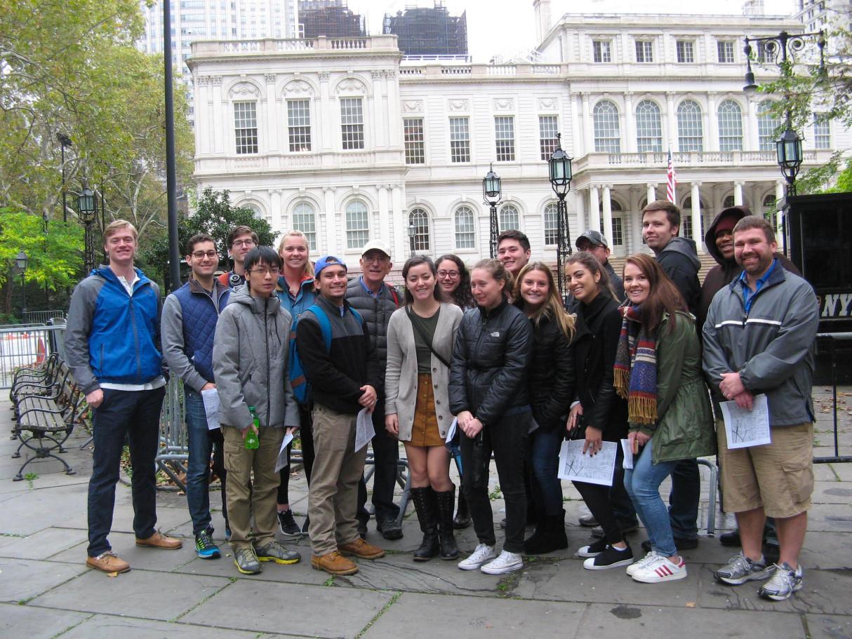 """Gangs of New York"" Class Trip November 2017"