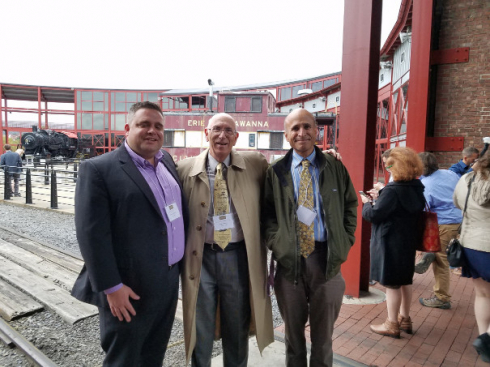 Professor Simon Visits With Former Students at the Pennsylvania Historical Association Meeting