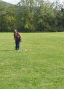 A game of frisbee